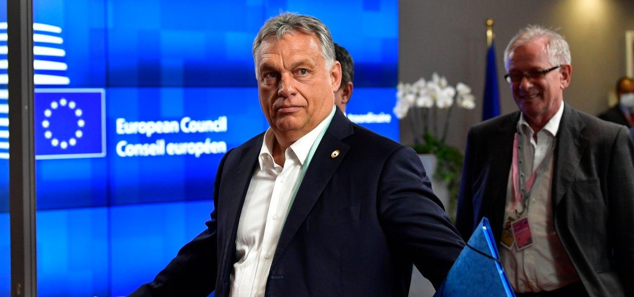 Il primo ministro dell'Ungheria, Viktor Orbán